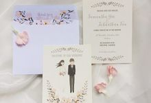 Floral Portrait  Styled Shoot by dora prints and paper goods