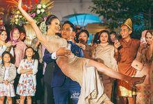 Nadhila & Saga by diskodiwedding