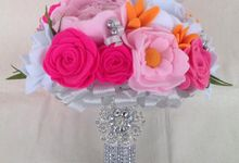 pink silver by La Niña Weddings