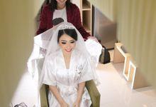 New Wedding makeup and hair by Kezia Evelina Larisa Makeup Artist