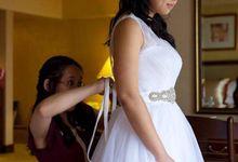 Wedding of Sheryl by Doll Up Inc