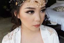 Ms Maria Karina Wedding party by Maria lim Makeup
