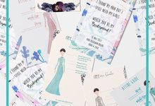 Bridesmaid & Groomsmen Card Collection by Hiraloka
