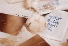 Hendry & Heppy Wedding by Yuo And Leather