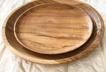 Wood Plates by Serendipicky