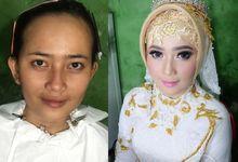 Beautiful Bride Ms konik by jrmakeup_bali