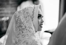 Intimate wedding Erin&Unggul Plataran Dharmawangsa by HR Team Wedding Group