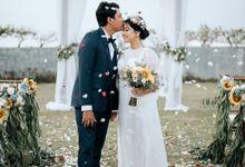 Andreas & Esti Wedding by Klapa New Kuta Beach