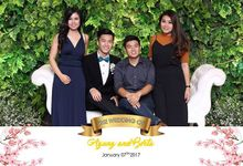Wedding of Agung & Bertha by Inspire Photobooth
