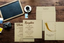 Floral Wedding invitation design for Rahul & Sakshi wedding by 123WeddingCards