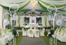 dekorasi pernikahan rumah by Tangerang Wedding