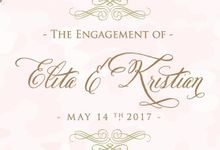 Kristian & Elita Engagement by SH Printing and Hampers