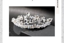 WEDDING & PARTY ACCESSORIES by Lyse Headpiece