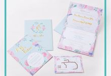 Riken & Afif's Wedding Invitation by Hiraloka