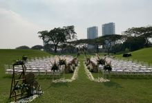 Wedding Ceremony at Hole 8 by Imperial Klub Golf