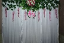 SAH backdrop by Sarah Askar Henna