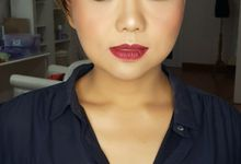 Bold and Glamour Makeup Look by Venteen Make Up Artist