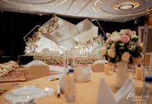 New Normal Wedding Decoration of Anthony & Vella by Skenoo Hall Emporium Pluit by IKK Wedding