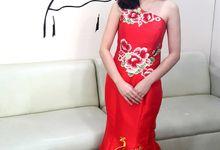 Sangjit Dress by Venteen Make Up Artist