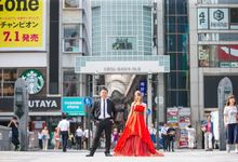 [OSAKA] City photoshoot by The Wedding & Co