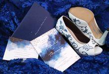 Ultramarine Blue Wedding - Melbourne by SLIGHTshop.com