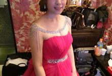 Johor Make Up and hairdo for wedding by MEB Entertainments