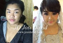 Make up hair do by josi david by Josi David Professional & Wedding Make up Artist