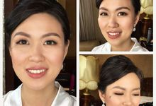 Bridal makeup for miss richelle  by HD Make up by Joyc Young