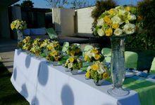 Bridal Table by d'Oasis Florist & Decoration