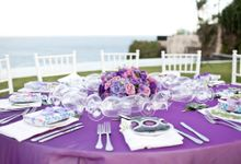 Purple Theme by WiB flowers