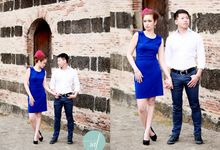 Allan & Jane Engagement shoot by Nadine Rayo Hair and Makeup Artistry