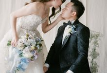 The Wedding of Deasy & Edward - Customized Print Tote Bag by Rove Gift