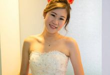 Wedding of Evelyn by Doll Up Inc