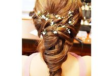 Half Up & Let Down & Pony Bridal Hairstyles by Après Makeup