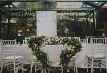 Wedding at Nosh by Charlotte Puxley Flowers