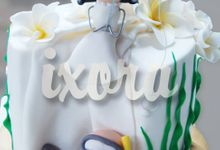 Wedding 5 by Ixora Cakes