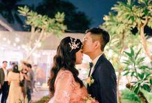 The Wedding Reception of David & Tanti by Namakita Planner
