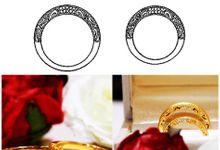 Customized Art Pieces - Wedding Bands by eClarity Diamonds
