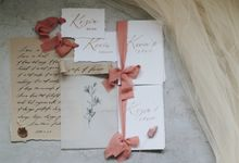 VOW BOOK set by Bon Paperie