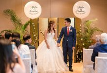 Shidan & Pearlene at Regent Hotel Singapore by kimnshin