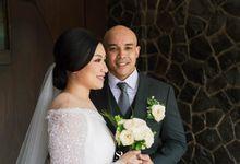 Intimate Wedding Steven & Wrista at Seribu Rasa by HR Team Wedding Group