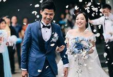 SHADES OF BLUE AT ADRIANLIA WEDDING by ARTECOLA