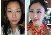 Chinese Traditional Makeup by Charlotte Beauty Studio