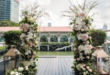 Floral Wedding Decoration by Fleurapy