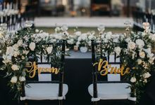 Modern Alfresco Wedding at Alila Uluwatu by Silverdust Decoration