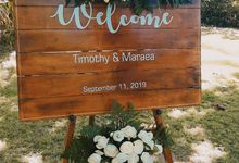 The Wedding of Timothy & Maraea by Miracle Wedding Bali