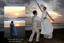 Louise & Steven by Legian Beach Hotel