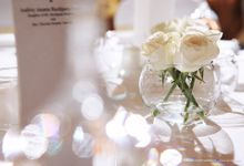 My Glamorous Romantic Wedding by Audrey Ananta