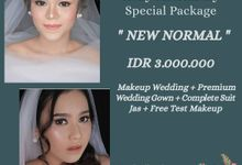 "Holly Matrimony ""New Normal"" Paket Makeup Wedding by Hana Gloria MUA"