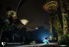 Singapore Pre Wedding of Terry and Jessica by Lombok Wedding Photography